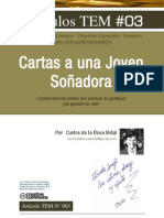 Cartas a una Joven Soñadora | Carlos de la Rosa Vidal