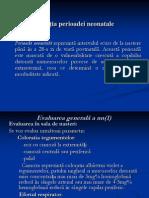 CURS 1 Definiția perioadei neonatale