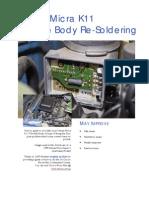 Cg13de Throttle Body Re Soldering Guide