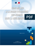 Guide Utilisation Normes-Reglements