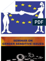 Gender Sensitive Issues in Occupational Health