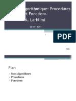 Proc Fonctions