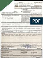 TSA Federal Air Marshal Robert MacLean Military Discharge DD Form 214