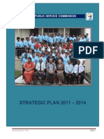 Fiji - Public Service Commission - Strategic Plan 2011 to 2014