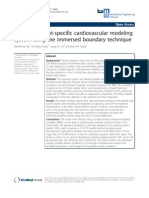 Patient Specific Cardiovascular Modeling System
