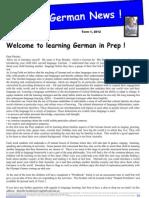 prep newsletter