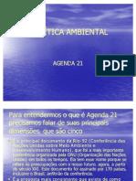 Agenda 21 - APRESENTAÇÃO