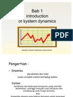 Pengantar Dinamika Sistem