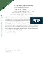 Puxun Wu and Hongwei Yu- Avoidance of Big Rip In Phantom Cosmology by Gravitational Back Reaction