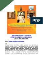 Breviar de Fapte Istorice Evrei Si Crestini La Ierusalim