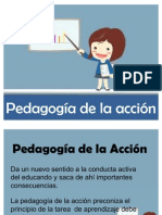 Pedagogia de La Accion