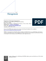 Properties of Emerging Organizations