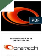 Presentación Plan de Certificación OBA