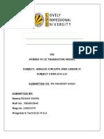 Term Paper Analog FINAL