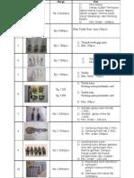 Katalog Souvenir