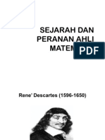 Sejarah Dan Peranan Ahli Matematik Zaty