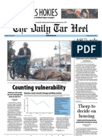 The Daily Tar Heel for January 20, 2012