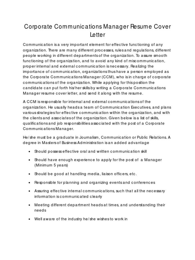 Cover Letter Communication Skills from imgv2-2-f.scribdassets.com