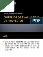 Dicertacion VAE Y CAE
