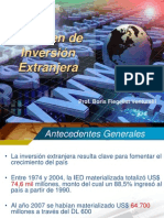 Regimen de Inversion Extranjera