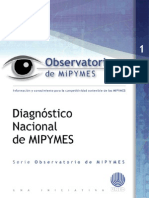 Primer Diagnostico Nacional de MIPYMES