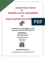 Working Capital Mgt.