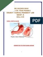 Peptic Ulcermazher