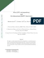Jiroshi Isono et al- Kerr/CFT correspondence and five-dimensional BMPV black holes