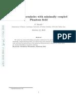 F. Darabi- Euclidean wormholes with minimally coupled Phantom field