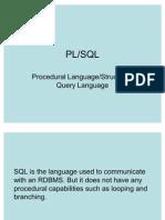 Plsql Presentation