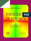 Progress in Physics 2009