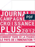 Petit Journal de Campagne N1-Innovation
