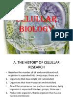 Celullar Biology
