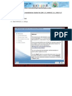 IBM Software Installation Guide for JDK 1.5, WASCE 2.1, DB2 9.7