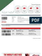 Air Asia Ticket (LCCT - Kuala Terengganu