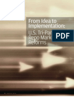From Idea to Implementation - US Tri-Party Repo Market Reforms