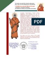 Swamiji Hbg Poster