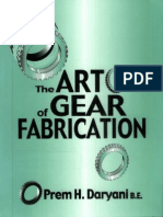 the Art of Gear Fabrication