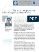Les conflits contemporains - Note d'analyse géopolitique n°51