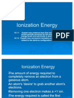 Ionization Energy 2