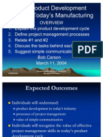 ASME Product Development Cycle
