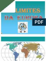 Os Limites Da Europa