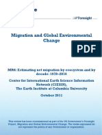 Migration and Global Environmental Change 2011-Oct