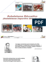 Subsistema Educativo 2011-2012 (SDE)