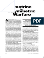 Doctrine for Asymmetric Warfare