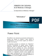 POWER POINT 6 Strumenti Di Presentazione