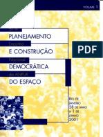 Anais Do IX Encontro Nacional Da ANPUR 2001 Vol.1