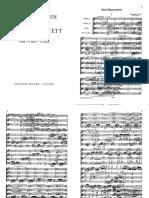 Verdi String Quartet Score