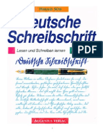 Buch Deutsche Schreibschrift-Lesen Und Schreiben Lernen