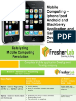 Course Syllabus Mobile Computing Fresher Lab